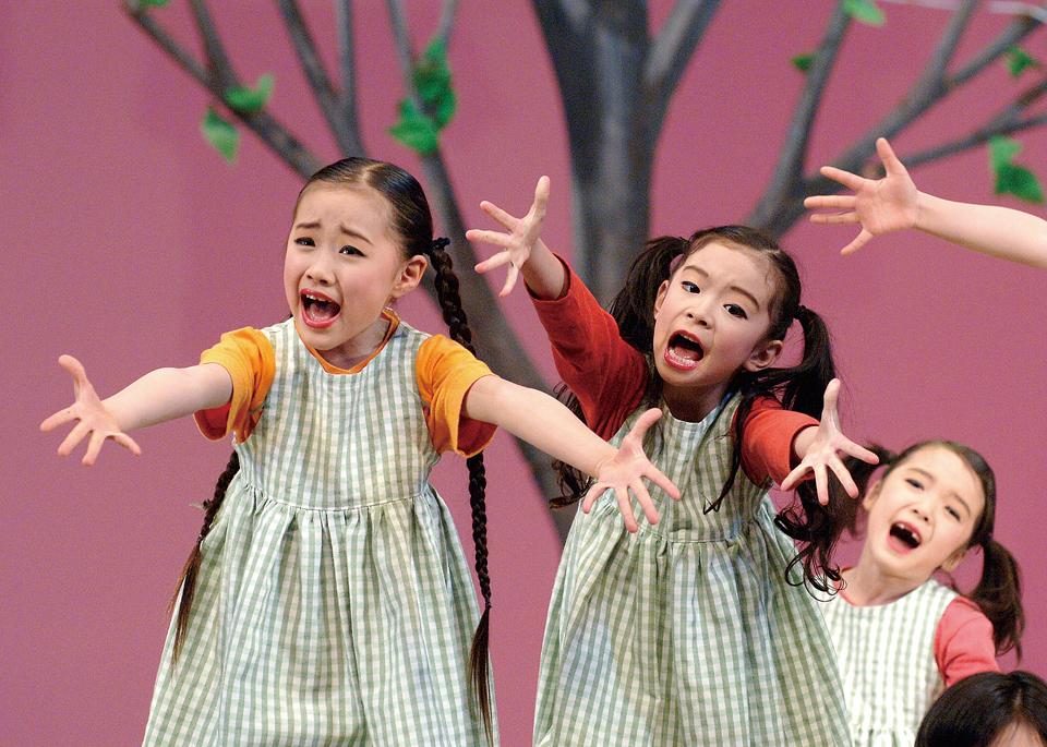 2005年ミュージカル公演「大好きなあしながおじさん」